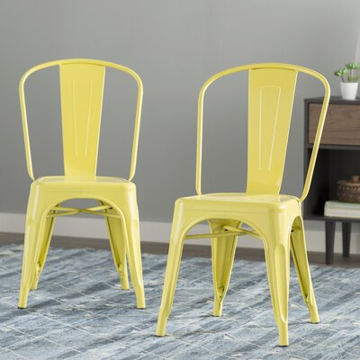 Louisa Dining Chair Color: Yellow