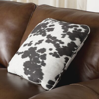 Eckley Throw Pillow Color: Black