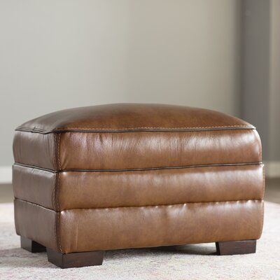 Grand Isle Ottoman Upholstery: Chestnut