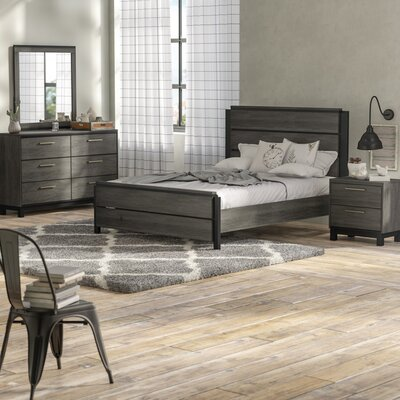 Mandy Platform 4 Piece Bedroom Set Size: Queen