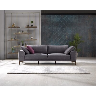 Yarborough Sofa Upholstery: Smokey Gray