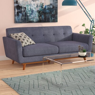 Seth Mid Century Modern Sofa Upholstery: Pacifico