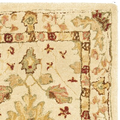 Anatolia Cream/Red Area Rug Rug Size: Rectangle 2 x 3