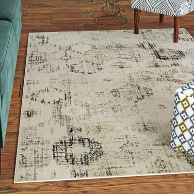 Harford Beige Area Rug Rug Size: Rectangle 4' x 6'