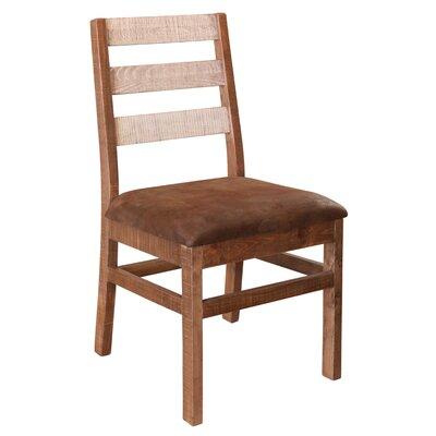 Strayer Solid Wood Dining Chair with Ladder Back