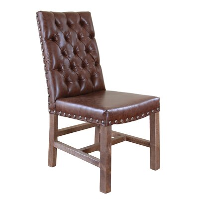 Strawn Upholstered Dining Chair with Tufted Back