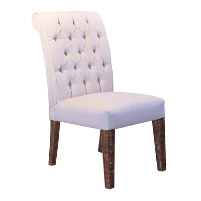 Guthridge Upholstered Dining Chair with Tufted Back