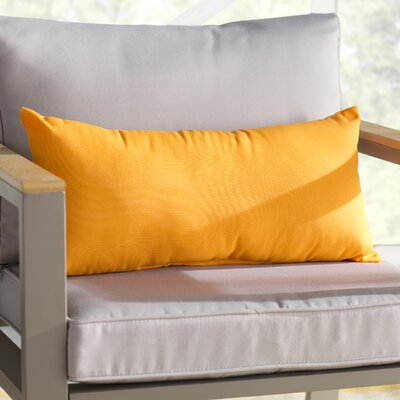 Branan Indoor/Outdoor Pillow Set Color: Bright Orange