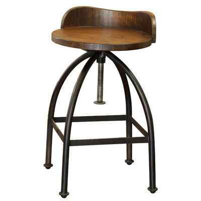 Bergeronnes Adjustable Swivel Bar Stool