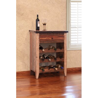 Rockhampton 12 Bottle Floor Wine Rack