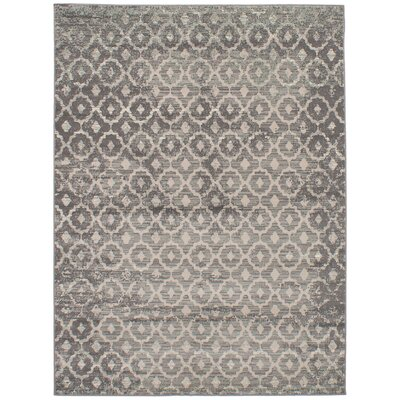 Kassidy Gray Indoor Area Rug Rug Size: Rectangle 710 x 102