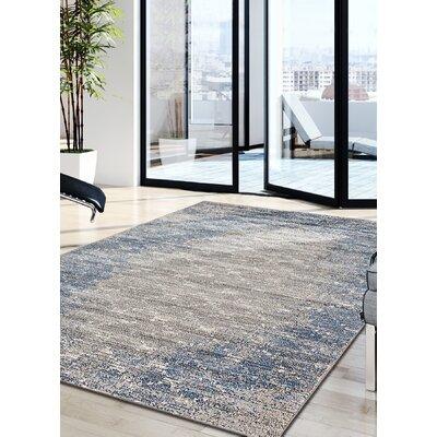 Cothran Blue/Gray Indoor Area Rug