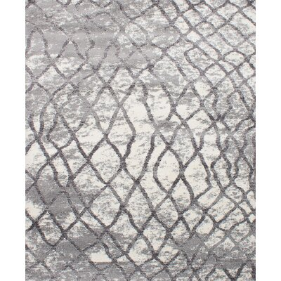 Kincade Gray Indoor Area Rug Rug Size: Rectangle 8 x 10