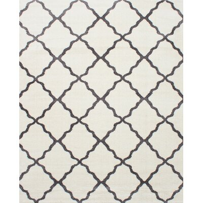 Kincade Cream Indoor Area Rug Rug Size: Rectangle 8 x 10