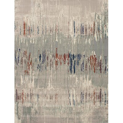 Courville Gray Indoor Area Rug Rug Size: Rectangle 79 x 101