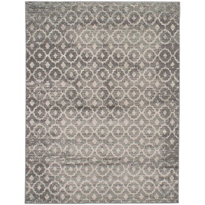 Kassidy Gray Indoor Area Rug Rug Size: Rectangle 53 x 73