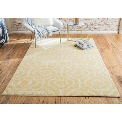 Mcreynolds Trellis Off-White Area Rug Rug Size: Rectangle 4 x 6