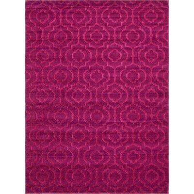 Mcreynolds Trellis Purple Area Rug Rug Size: Rectangle 9 x 12