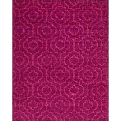 Mcreynolds Trellis Purple Area Rug Rug Size: Rectangle 8 x 10