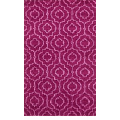 Mcreynolds Trellis Purple Area Rug Rug Size: Rectangle 5 x 8