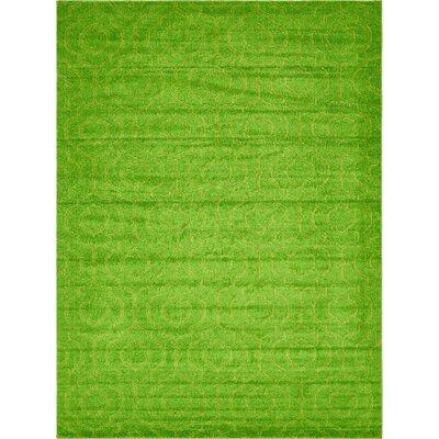 Mcreynolds Trellis Green Area Rug Rug Size: Rectangle 9 x 12
