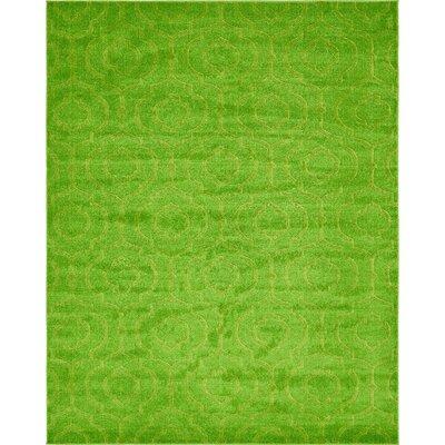 Mcreynolds Trellis Green Area Rug Rug Size: Rectangle 8 x 10