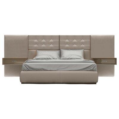 Knorr Panel 3 Piece Bedroom Set Size: King