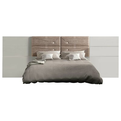 Berkley High Gloss Panel Bed Size: King