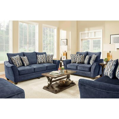 Vargas 2 Piece Living Room Set
