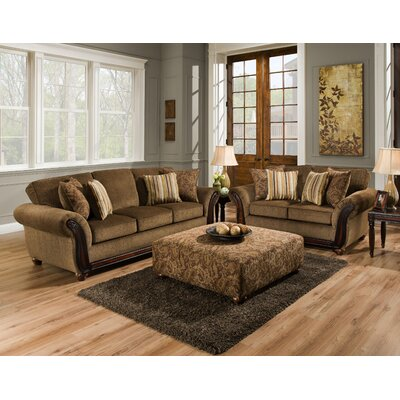 Berkman 2 Piece Living Room Set