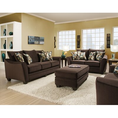 Huddleston 3 Piece Living Room Set