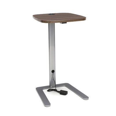 Jourdan 15 W Accent with USB Grommet Computer Table Tabletop Finish: Walnut