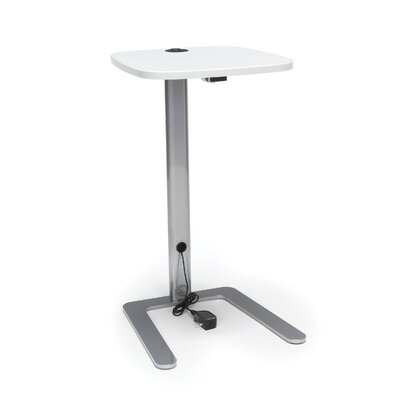 Jourdan 15 W Accent with USB Grommet Computer Table Tabletop Finish: White