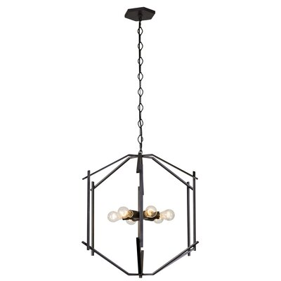 Cranford 6-Light Geometric Pendant