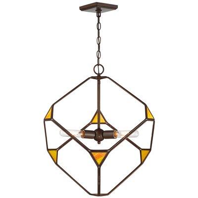 Parris 3-Light Geometric Pendant