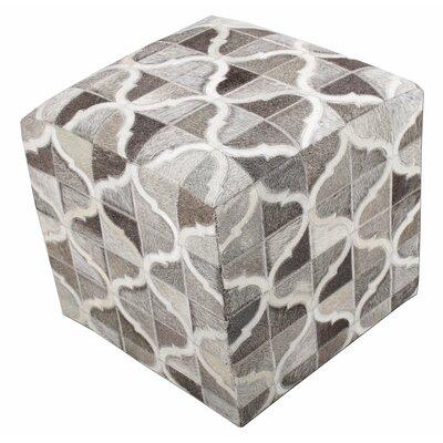 Chesapeake Cube Ottoman Upholstery: Gray Curve