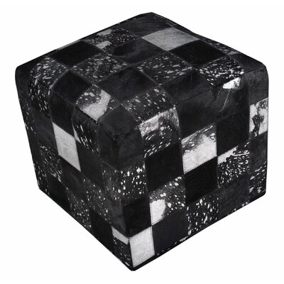 Chesapeake Cube Ottoman Upholstery: Black Square