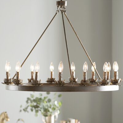 Mcmahon 12-Light Candle-Style Chandelier