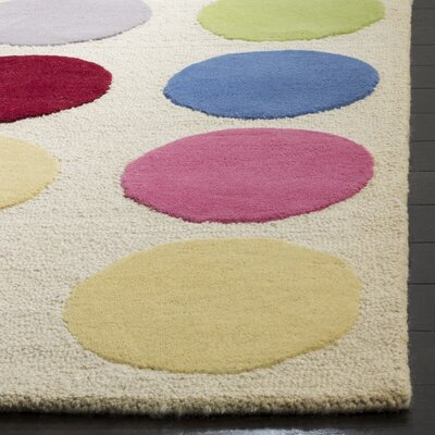 Claro Polka Dot Area Rug Rug Size: Rectangle 5 x 8