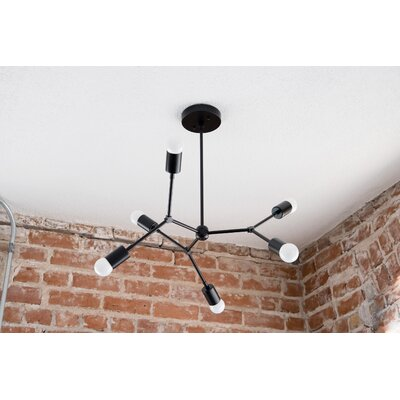 Davisboro 6-Light Sputnik Chandelier