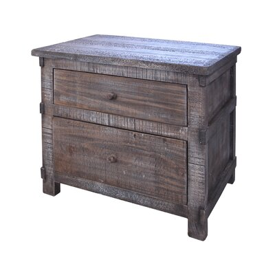 San Angelo 2 Drawer Nightstand
