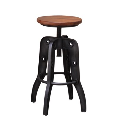 Doylestown Adjustable Height Swivel Bar Stool