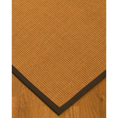 Kepley Border Hand-Woven Beige/Fudge Area Rug