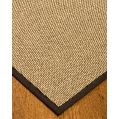 Atwell Border Hand-Woven Gray/Fudge Area Rug