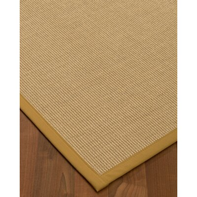 Atwell Border Hand-Woven Gray/Sage Area Rug Rug Size: Rectangle 5 x 8, Rug Pad Included: Yes