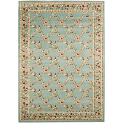Taufner Blue Checked Area Rug Rug Size: Rectangle 8 x 11