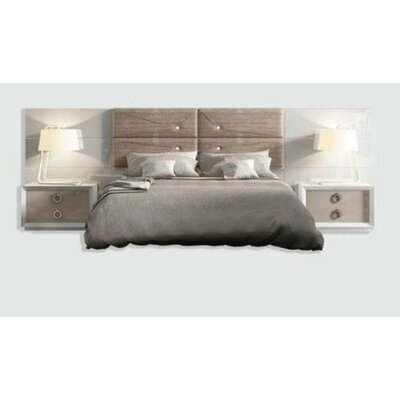 Rhea Panel 3 Piece Bedroom Set Size: Queen