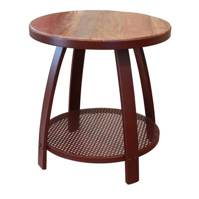 Culver End Table with Shelf