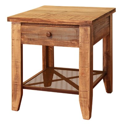 Roberge End Table with 1 Drawer