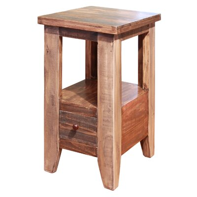 Straus End Table with 1 Drawer